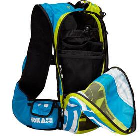 Hoka One One Evo R Backpack cyan / white / citrus